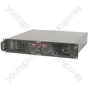 PLX Series Power Amplifiers - PLX2800 amplifier, 2 1050W @ 4 Ohms