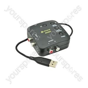 Compact USB-audio interface