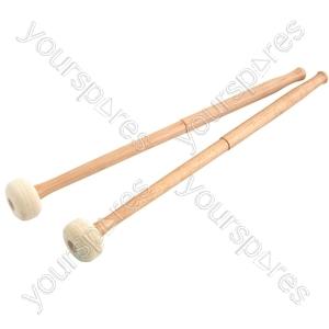 Percussion Mallets - - hard felt - MALLETHF
