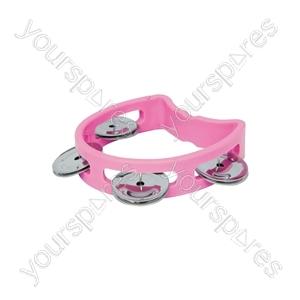 Mini D Tambourines - - pink - MTM-PK