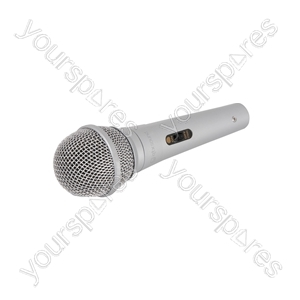 Dynamic Microphone - DM11S - silver