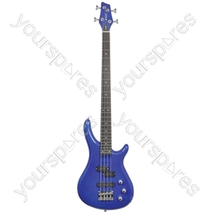 Electric Bass Guitars - CCB90 Metallic Blue - CCB90-MBL