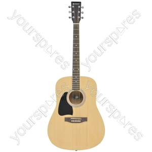 Western Guitar - CW26 - left-hand - natural - CW26/LH