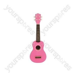 Ukulele - CU21-PK Pink