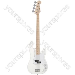Electric Bass Guitar - CAB41M Arctic White - CAB41M-ATW