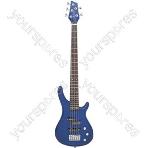 CCB95 Bass Guitar - 5-string - metallic blue - CCB95-MBL