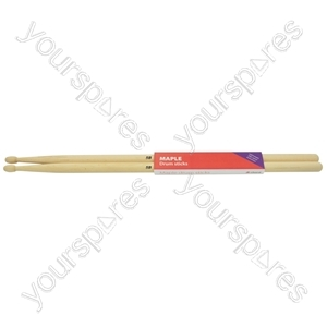 Maple Drum Sticks - 1 Pair - 5BW - M5BW