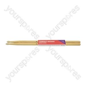 Compact Hickory Drum Sticks - 1 Pair - 7AN - H7ANC