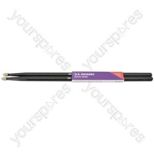 Black U.S. hickory sticks 5AN - pair