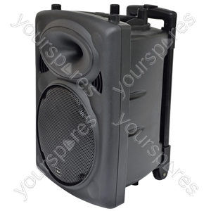 """Portable Powered PA Unit with 10"""" speaker (QR10PA)"""
