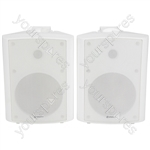 "6.5"" Active Stereo Speaker Set 2x50W - 6.5inch White - BC6A-W"