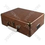 Attaché - Suitcase Record Player - Brown - Attache