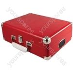 Attaché - Suitcase Record Player - Red - Attache