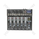 CM-live Compact Mixers with Delay + USB/SD Player - CM6-LIVE