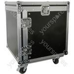 "19"" Equipment Racks with Wheels - 10U case - RACK:10X"