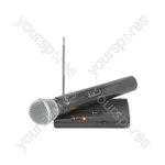 Handheld Compact VHF Wireless System - - 174.5MHz - VH45B