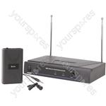 Lavalier Microphone VHF Wireless System - - 174.5MHz - VL1