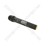 Replacement HU6 Handheld Transmitters - 865.00MHz - HU6-HT865.00