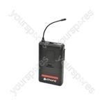 HU6 bodypack transmitter 864.10MHz