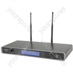 Tuneable Dual UHF Beltpack Microphone System - RU210-N Multi-UHF Neckband/Lavalier - RU210H