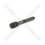 Handheld UHF Transmitter for RU105 & RU210 - Mic - RUHH-PLL