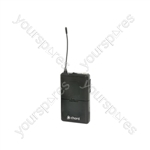 Beltpack Transmitters for NU1 and NU2 Systems - 863.1MHz - NUBP-863.1