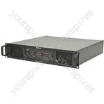 P Series Stereo & Sub Power Amplifiers - P551000 2 x 550W + 1000W