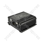 Phantom Power Units - Single channel with USB audio out - USB481
