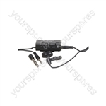 Stereo Condenser Tie-clip Microphone - TCM4
