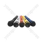 Dynamic Microphones set of 5 colours - DM5X coloured mics