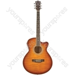 Electro-acoustic Guitars - CMJ4CE Honeyburst - CMJ4CE-HB