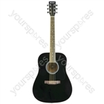 Western Guitar - CW26 - black - CW26-BK