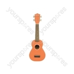 Ukulele - CU21-OR Orange