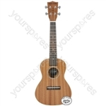Native Series Ukuleles - Concert Sapele