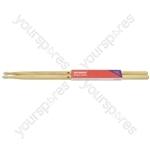 Hickory Drum Sticks - 1 Pair - 5BN - H5BN