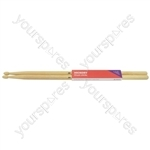 Hickory Drum Sticks - 1 Pair - 2BW - H2BW