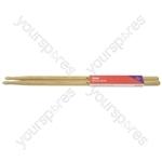 Oak Drum Sticks - 1 Pair - 7AN - O7AN