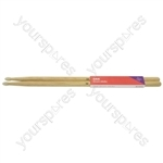 Oak Drum Sticks - 1 Pair - 5AW - O5AN