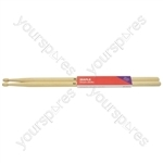 Maple Drum Sticks - 1 Pair - 5AW - M5AW