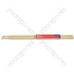 Maple Drum Sticks - 1 Pair - 5AN - M5AN