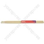 Maple Drum Sticks - 1 Pair - 5BN - M5BN