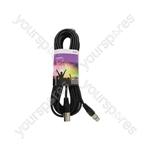 Professional DMX Lighting Leads - lead, 3-pin XLR plug to 3-pin XLR socket - 10.0m