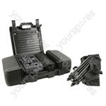 Suitcase PA 100W USB/SD + DSP - +USB/SD/DSP 50+50W - SC100
