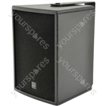"CS Series Wooden Speaker Cabinets - CS-610B 15cm (6"") - black"