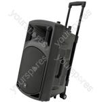 QXPA-plus Portable PA with UHF, USB/SD/FM & Bluetooth® - QX12PA-plus unit + USB/SD/FM/BT
