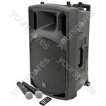 QX series portable powered PA unit with Bluetooth® - QX15PA USB/SD/FM player &
