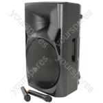 QUEST Portable PA Units - QUEST-15 + USB/SD/FM player & Bluetooth - QUEST-15PA
