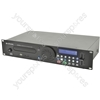 Combination CD/USB/SD Player - CDUSB-2 rackmount 2U
