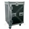 "19"" Equipment Racks with Wheels - 16U case - RACK:16UX"
