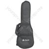 Padded Gig Bag for Soprano Ukulele - UBP-BK1 Black